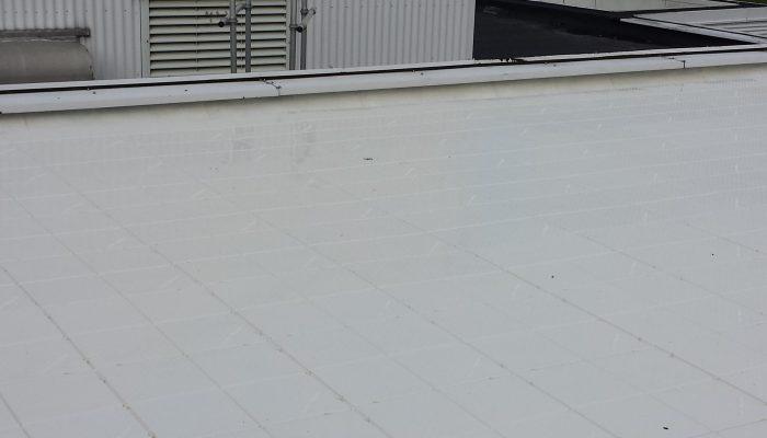 Roofflex witte dak tegels
